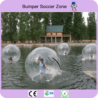 Free Shipping 2m Inflatable Human Hamster Ball Water Balloon Water Walking Ball Water Zorb Ball