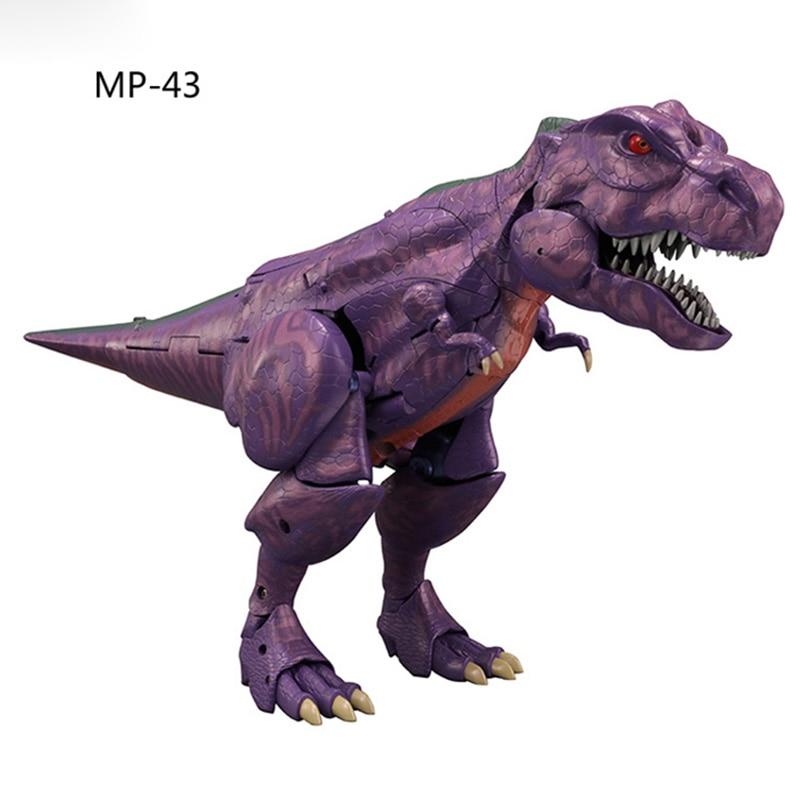 Ponto MP-43 transformado brinquedo bw super guerreiro besta guerra mp43 tyrannosaurus
