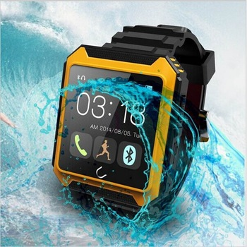 Sport Bluetooth Smart Watch WristWatch Uterra U Waterproof IPS Screen for iPhone 4/4S/5/5S/6/6 Plus Samsung S6/S5/S4/S3/Note 3 dm09 smart watch wristwatch bluetooth 4