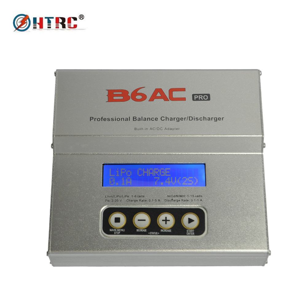 B6AC PRO Professional Digital RC Balance Charger Discharger for LiPo/LiFe/Lilon/NiCd/NiMH Battery ocday 1set imax b6 lipo nimh li ion ni cd rc battery balance digital charger discharger new sale