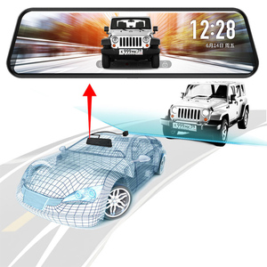 Image 2 - JADO D820s X1 voiture Dvr flux rétroviseur caméra tableau de bord avtoregistrateur 10 IPS écran tactile Full HD 1080 P voiture enregistreur dash cam