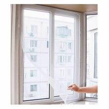 Moustiquaire anti moustiques auto adhésif fenêtre invisible