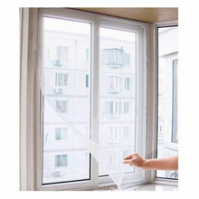 Self adhesive mosquito repellent screen window invisible screen window cloth to clean screen window curtain tape strip Hot AB142