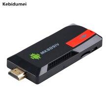 Kebidumei MK809IV מכירה לוהטת 2gb 8gb עבור אנדרואיד אלחוטי Dongle טלוויזיה תיבת Wifi BLUETOOTH חכם טלוויזיה משחק מקל Hd אודיו Converte