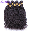 Iwish Brazilian virgin hair Water wave Human hair weaves 3pcs/lot wet and wavy Brazilian water wave 8A unprocessed Virgin Hair