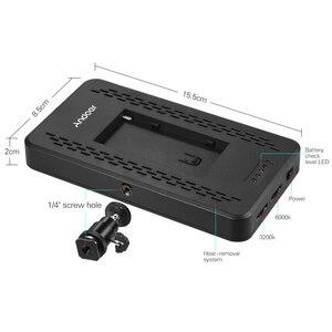 Image 3 - Andoer Ultra thin 3200K/6000K LED Light Panel Lamp Studio Video Photography 228pcs Bead for Canon Nikon DSLR Camera DV Camcorder