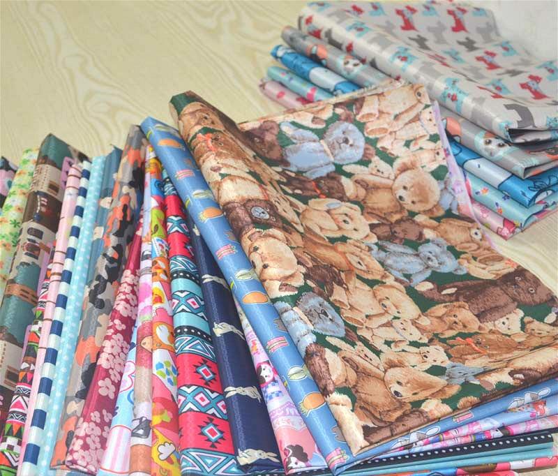 210d Cartoon PVC recubierto impermeable Oxford Telas tapicería ...