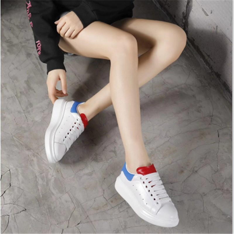 Casuales Mujer Mujeres De Cuatro Show Color Show Moda Las As Cuero Planos Estaciones Plataforma La Transpirable Zapatos Deportivos Matchi as nqPqRt50wr