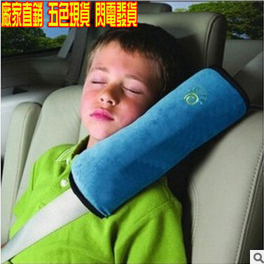 Car-styling Car seat belt Shoulder Pillow For Ford EDGE Explorer EXPEDITION EVOS START C-MAX S-MAX B-MAX