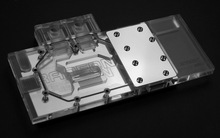 Bykski A-SP39Trix-X Full Cover Graphics Card Water Cooling Block 0.5MM micro - channel design for Sapphire R9 390 390X