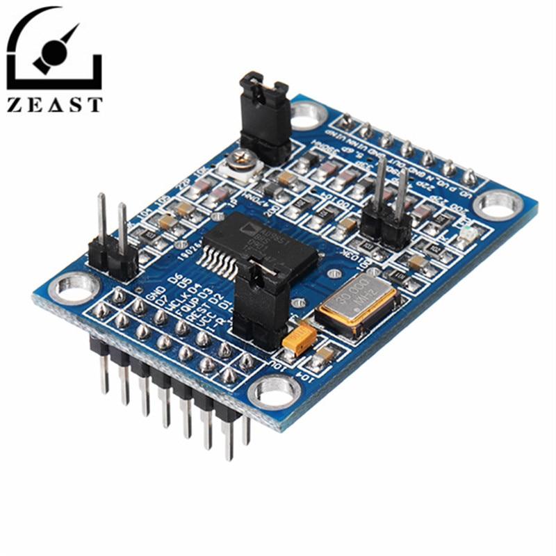 AD9851 DDS Signal Generator Module 2 Sin Wave ( 0-70MHz ) And 2 Square Wave ( 0-1MHz ) ad9850 ad9850brsz ad9851 ad9851brs ad9851brsz