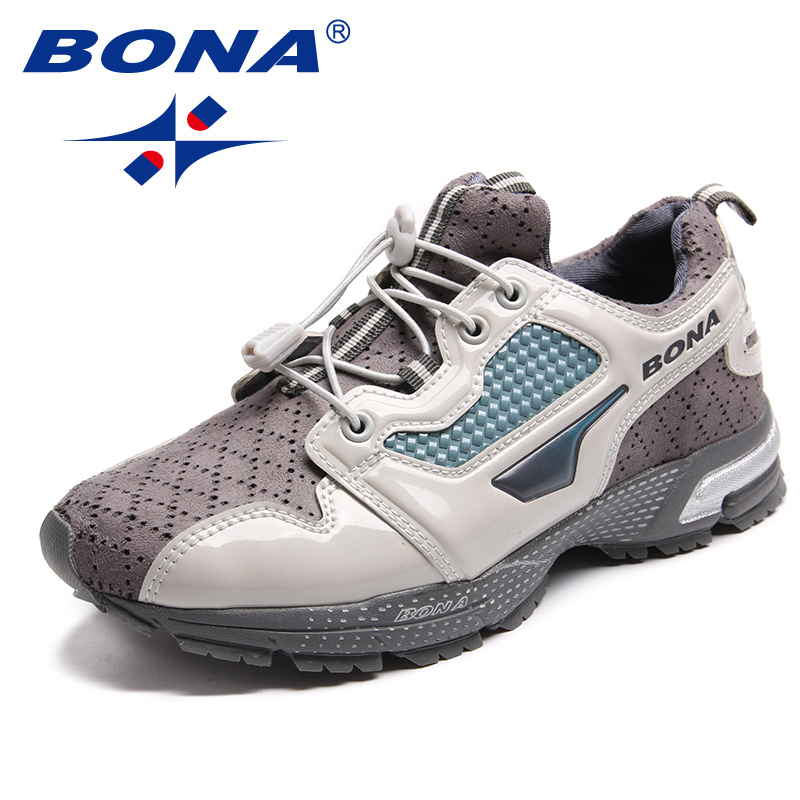 BONA New Classics Style Women Running Shoes Lace Up Women Sport Shoes Outdoor Physical Exercise Jogging