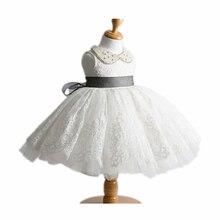 BBWOWLIN Turn down Collar Flower Girl Dresses Baby Girl Ball Gown Vestido Infantil for 0 2