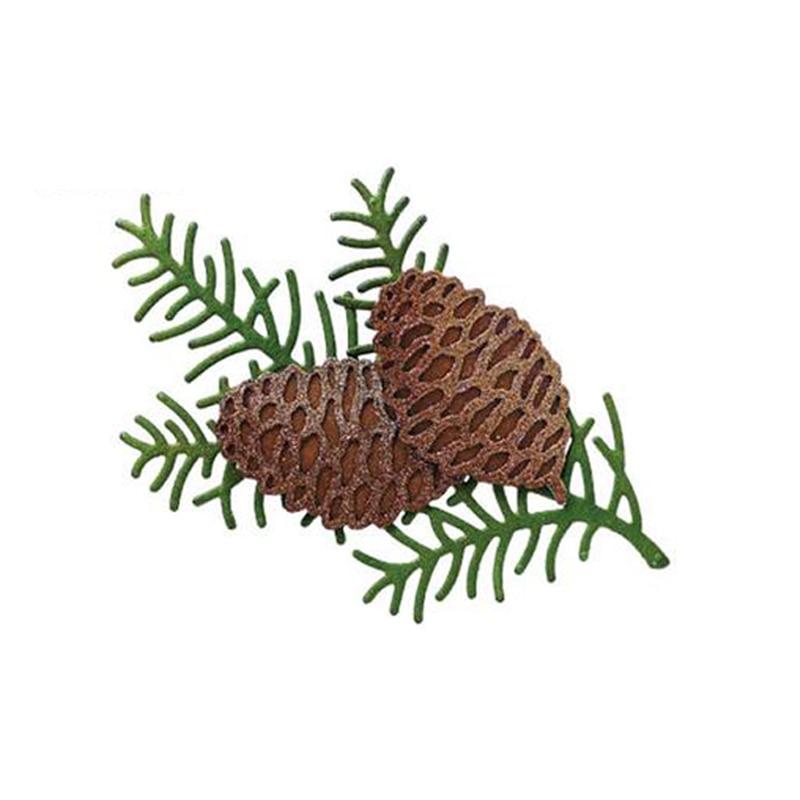 Christmas, pinecones, pines, Metal Cutting Dies for DIY Scrapbooking Album Paper Cards Decorative Crafts Embossing Die Cuts