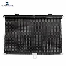 X Autohaux Светоотражающие выдвижные окна солнцезащитный козырек Солнцезащитный ролик протектор экрана 125 см x 58 см Автомобильные Боковые оконные шторы