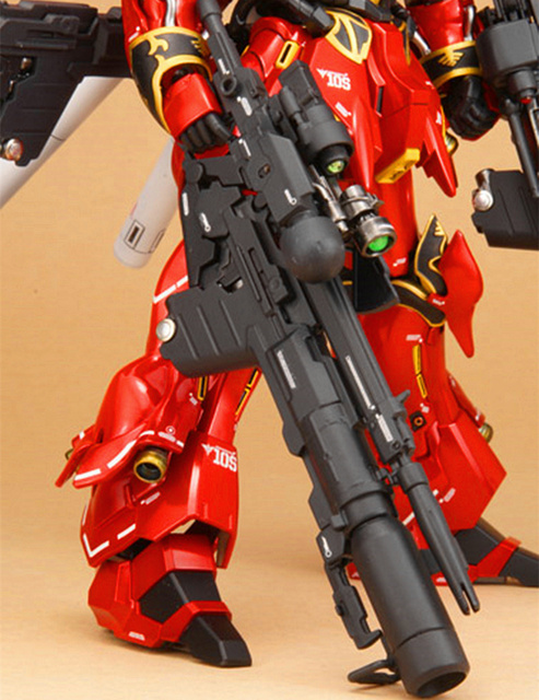 DX Hobby Rocket Bazooka Anti-MS gun for Bandai HG RG 1/144 MSN-06S Gundam Sinanju