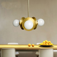 New European Style Pendant Lamps Creative Personality Post Modern Dining Room Living Room Bedroom Lamp Nordic Pendant Light