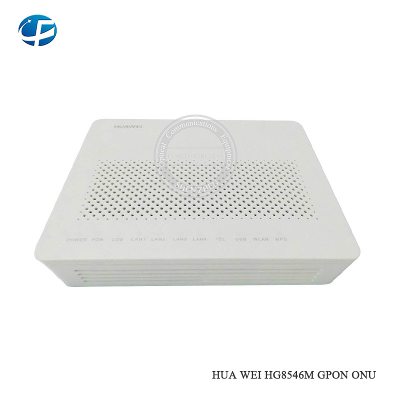 Communication Equipments Hottest Version Original Second-hand Hua Wei Wireless Terminal Hg8546m Gpon Onu Ont 1ge+3fe Ports With Lowest Price Unequal In Performance