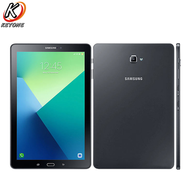 US $289 99 |New Samsung Galaxy Tab A 10 1 LTE T585 Tablet PC 4G+ WIFI 3GB  RAM 32GB ROM Octa Core Android 6 0 7300mAh GPS Tablet-in Tablets from