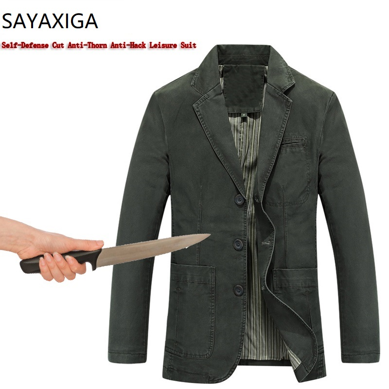 Back To Search Resultsmen's Clothing Self Defense Anti Stab Cut Resistant Men Clothing Anti Sharp Police Casual Defense Gold Velvet Jacket Coats Outwear Stealth Tops Jackets