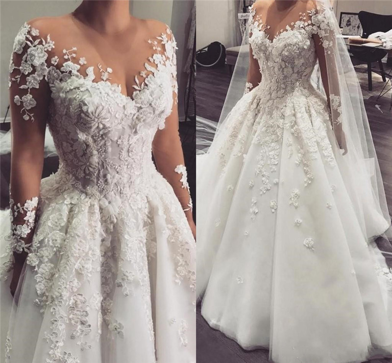 Vintage dentelle blanche perles robe de mariée encolure dégagée à lacets dos Tulle Appliques robe de mariée avec jupe amovible taille personnalisée
