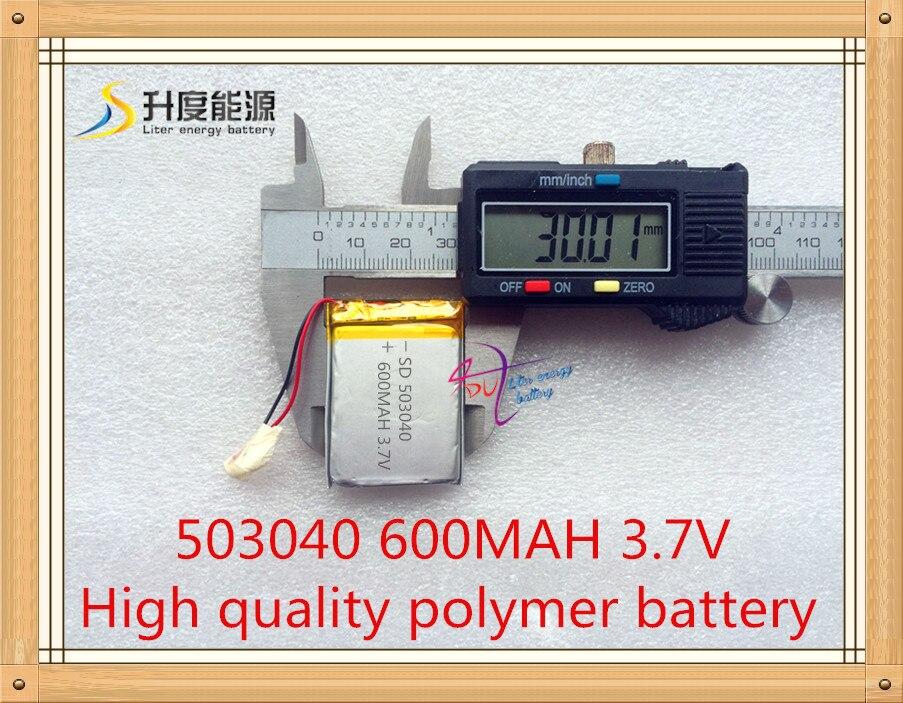 053040 600MAH tovarna polimernih baterij direktno polimernih - Dodatki za tablične računalnike - Fotografija 2