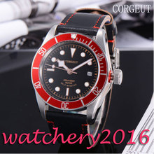 Luxury Corgeut 41mm black dial Sapphire Glass Green Luminous The Most worthy collection miyota Automatic movement Men's Watch