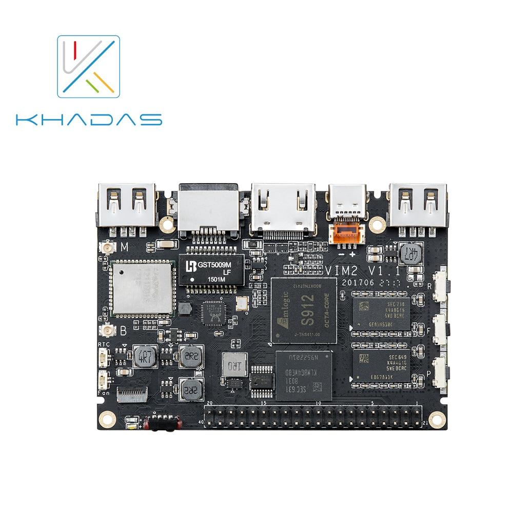 Khadas VIM2 Basic Mother Board Only (DDR4 2GB+16GB) novotech встраиваемый светильник novotech ola 370195