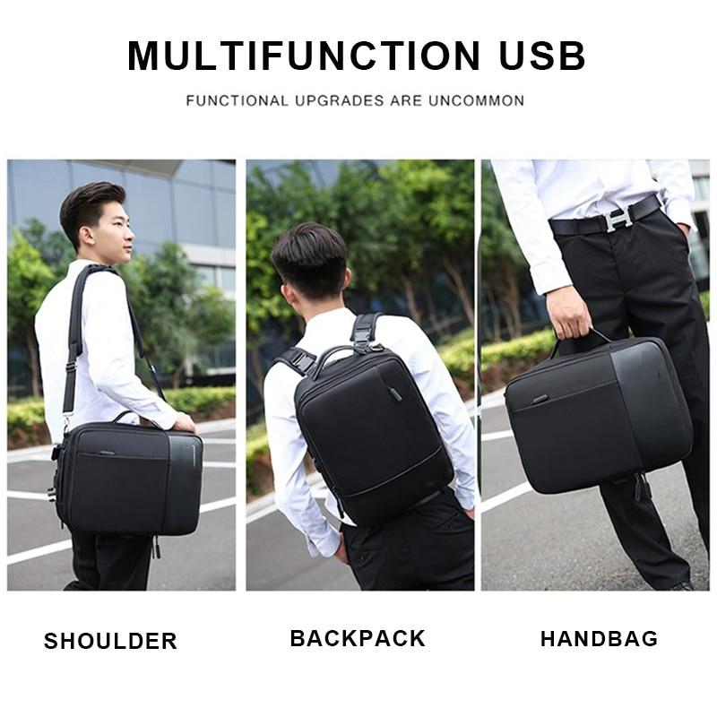 Business Backpack Men Male Outdoor Travel Laptop Backpack Men's Shoulder Bag