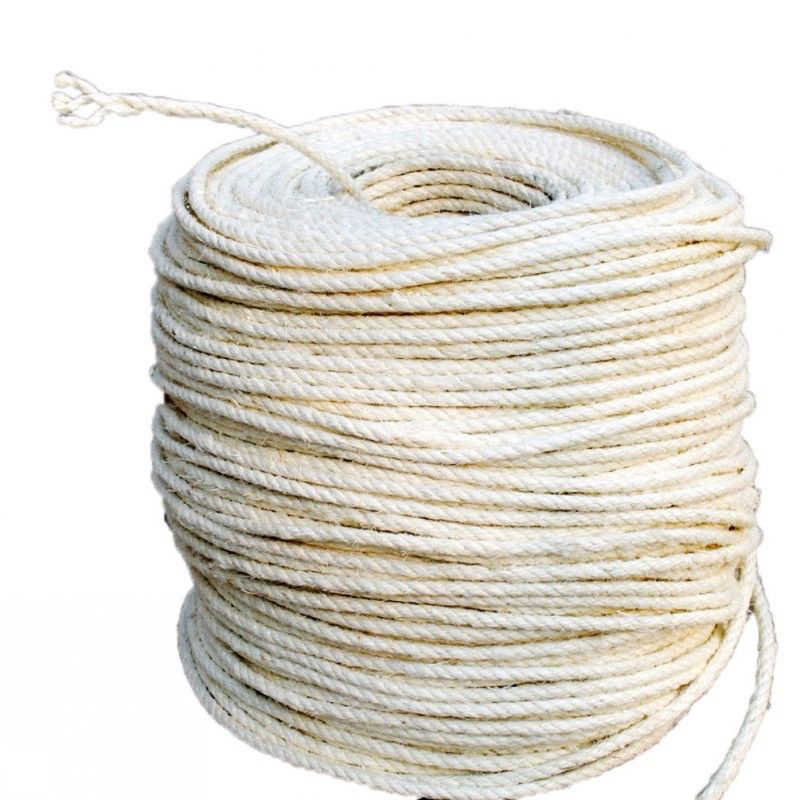 5/10/20m Cat Natural Sisal Rope for Scratching Post Tree Replacement Hemp  Rope for Repairing Recovering DIY Scratcher