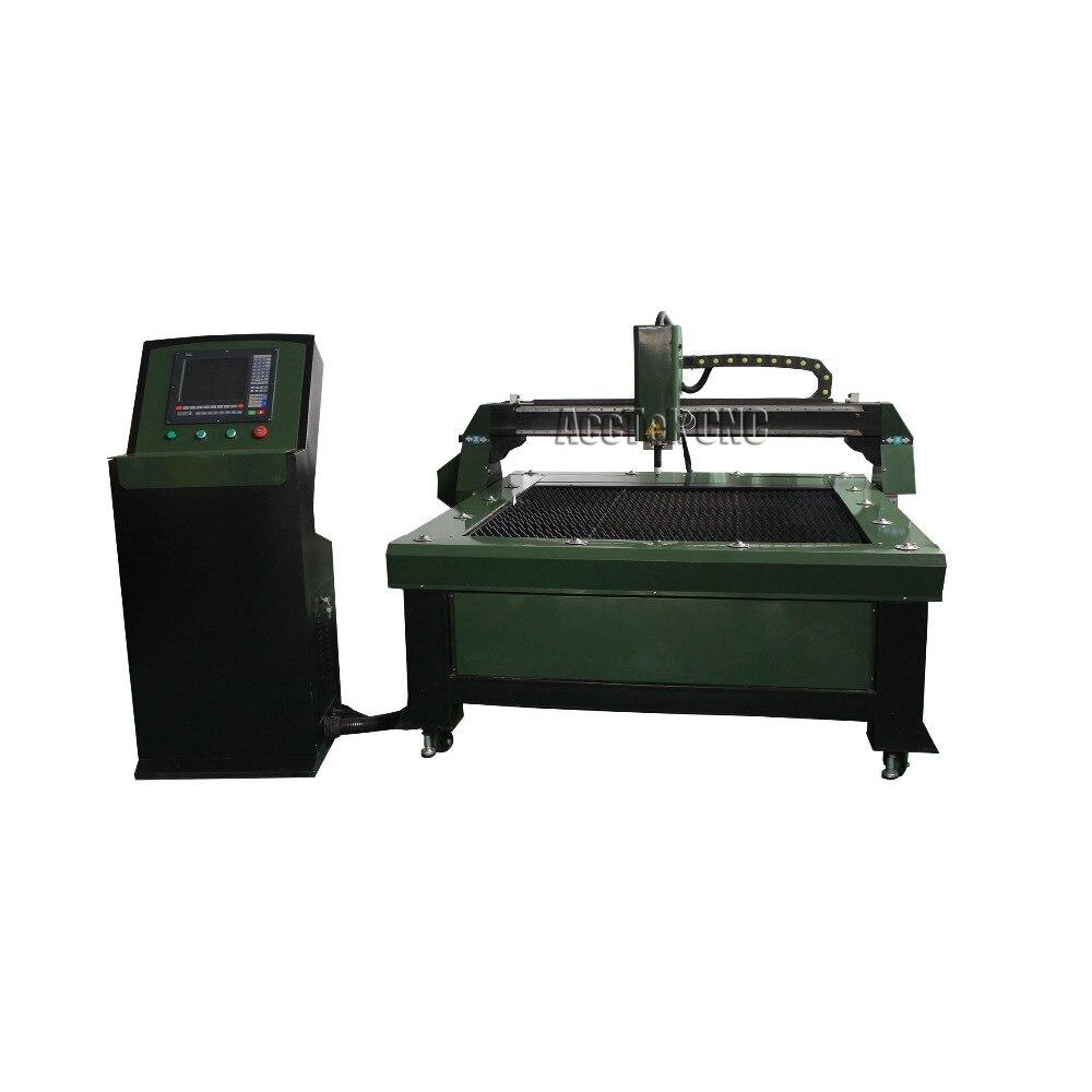 Largement utilisé pas cher AKP1313 CNC plasma et machine de découpe en acier pour l'industrie de la tôle