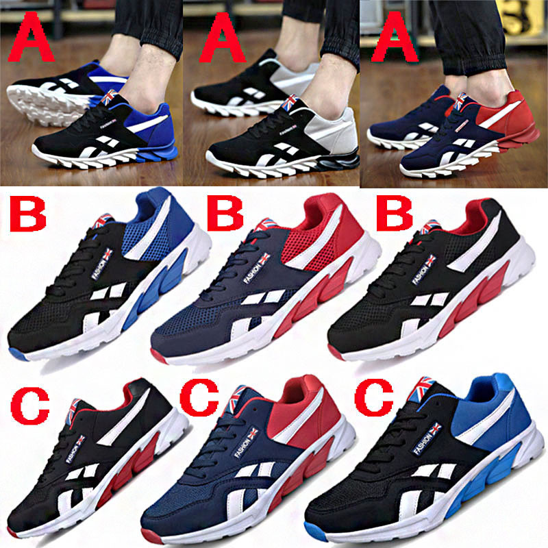 mixed colors shoe