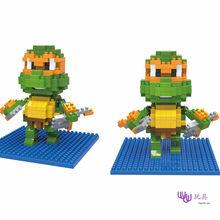 SC: Teenage Mutant Ninja Turtles  – 1160  Diamond Micro Nano Building Blocks Action Figure boy & girl gifts