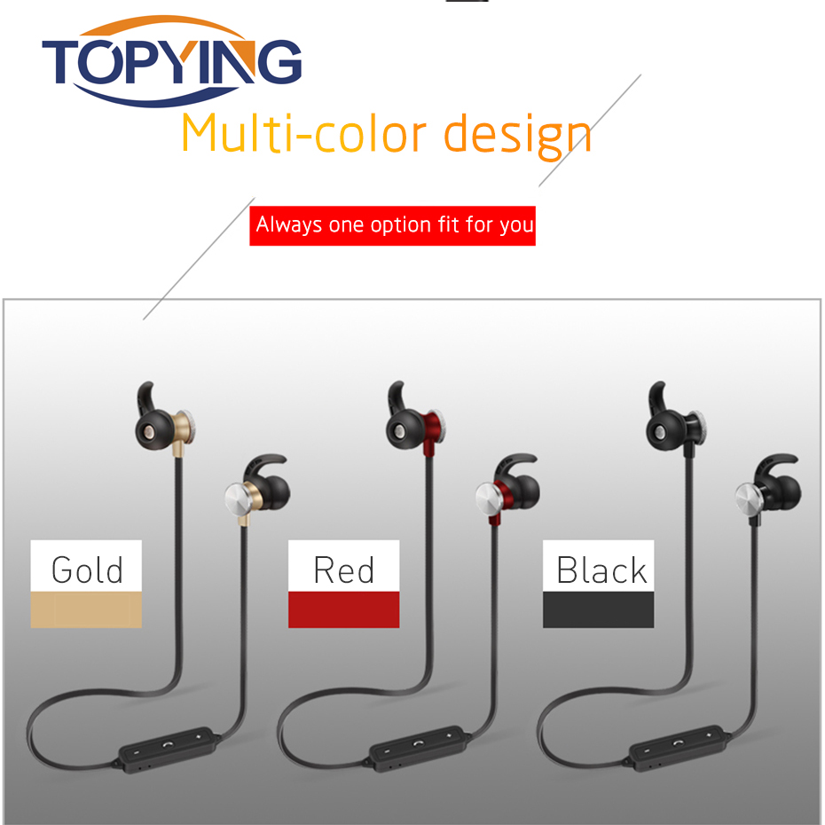 Wireless Earphone Bluetooth V4.1 Connect Earphone For Sport Earbuds With Microphone Headset Stereo Wireless Driving Earphone