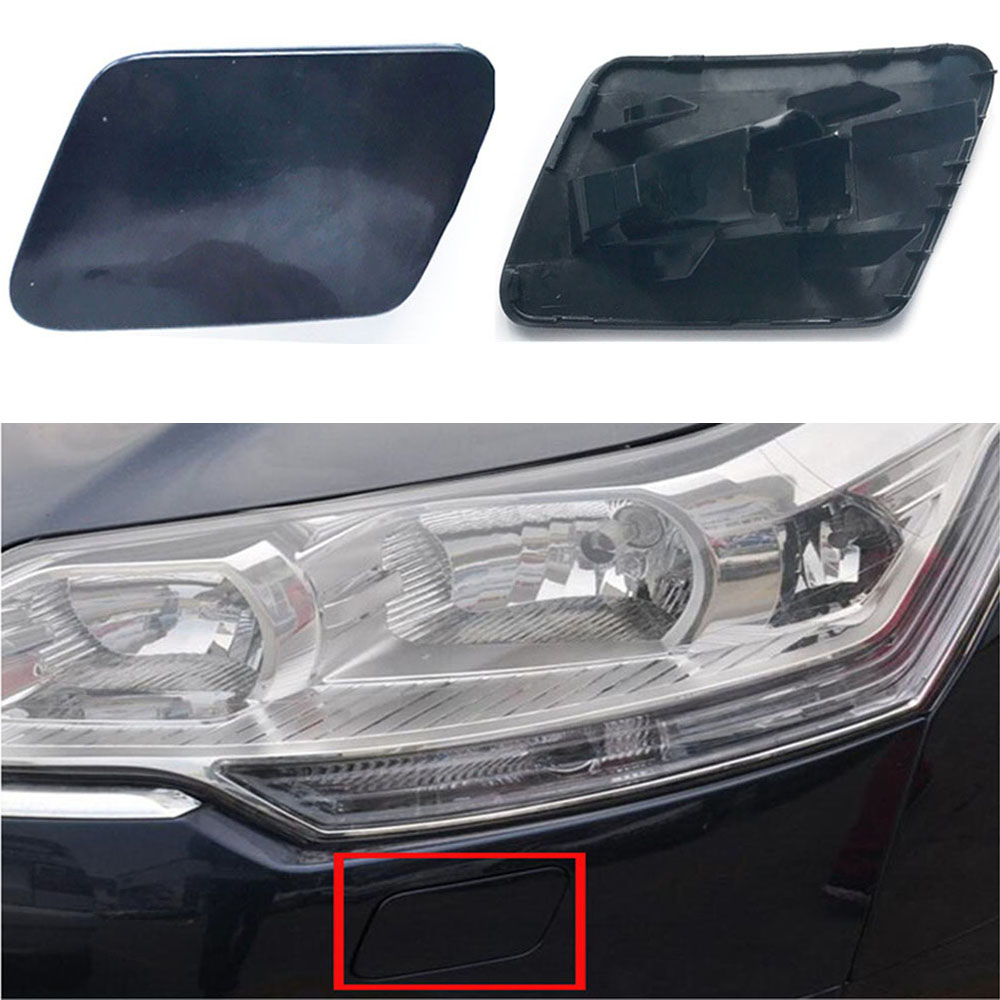 For Citroen C5 2010-2016 Front <font><b>Headlamp</b></font> Spray <font><b>Washer</b></font> Nozzle <font><b>Pump</b></font> Cover Cap Headlight Cleaning Jet Cap Left & Right image
