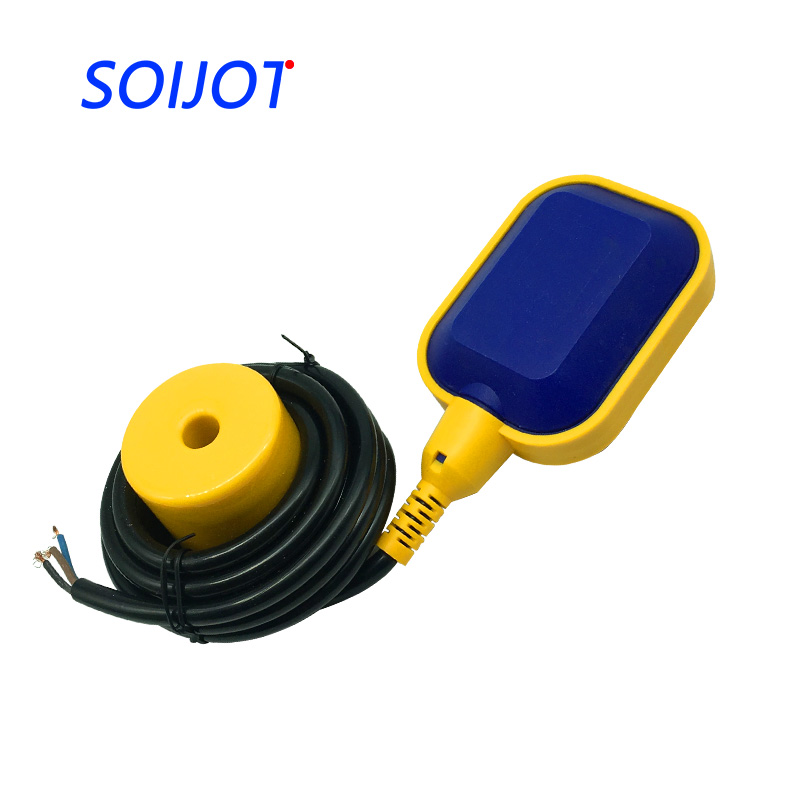 M15-2 2m-5m Cable Controller Float Switch Liquid Fluid Water Level Float Switch Controller Contactor Sensor 10m pvc float level switch cable float switch liquid fluid water pump level no nc controller sensor m15 5