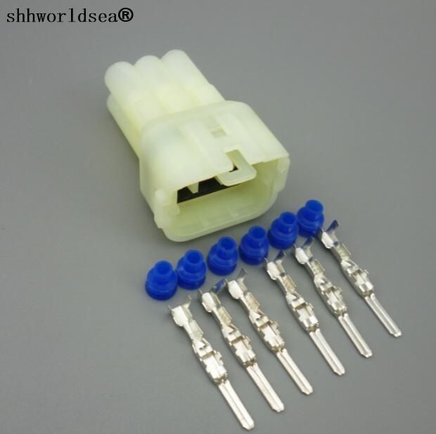 Shhworldsea 10 Sets 6 Pin stecker Auto sensor stecker, Auto ...