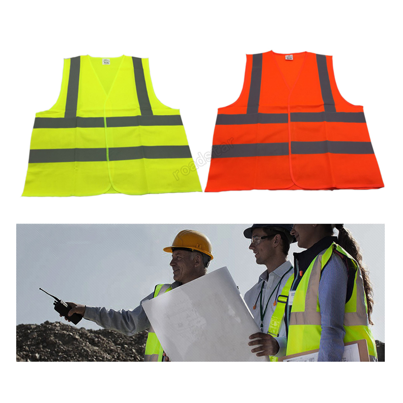 High Visiblity Reflective Safety Vest Filament Fabric With Mid-Indensity Polyester Reflective Fabric for Traffic Safety salzmann 41001 cute reflective polyester key toy grey
