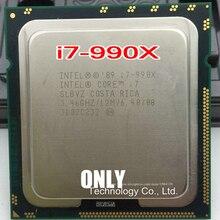 무료 배송 인텔 I7 990X i7 990x cpu 프로세서 3.46g 6 코어 lga 1366 흩어져있는 조각