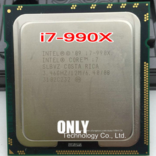 Procesador intel I7 990X I7 990X, seis núcleos, 3,46G, 1366 LGA, piezas irrompidas, Envío Gratis