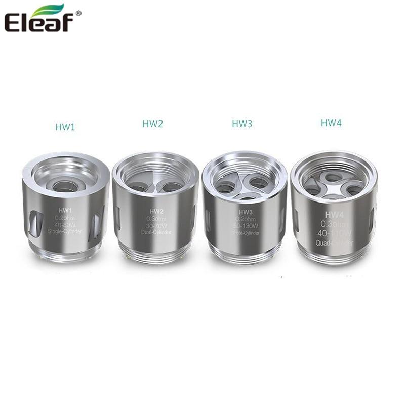 5pcs/lot Eleaf HW1 Coil HW2 HW3 HW4 Head E cigarette  fits ELLO Tank iStick Pico 21700 iKonn 220 iJust Nexgen
