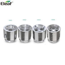 5pcs/lot Eleaf HW1 Coil HW2 HW3 HW4 Head E cigarette Coil  fits Eleaf ELLO Tank iStick Pico 21700 iKonn 220 iJust Nexgen original eleaf istick pico 21700 tc box mod 100w electronic cigarette vape mod large display 18650 21700 battery fit ello tank page 3