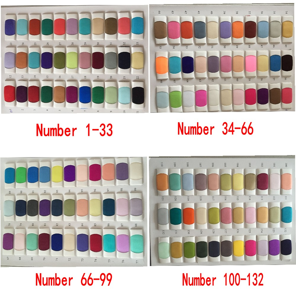 full tulle color chart