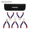 Workpro 5 unids mini Alicates joyería Alicates diagnoal Alicates cortador herramienta de bricolaje