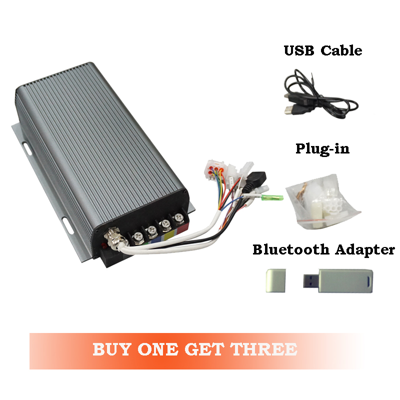 100A Sabvoton SVMC72100 BLDC Controller CE Approved for Electric Bicycle with bluetooth adapter