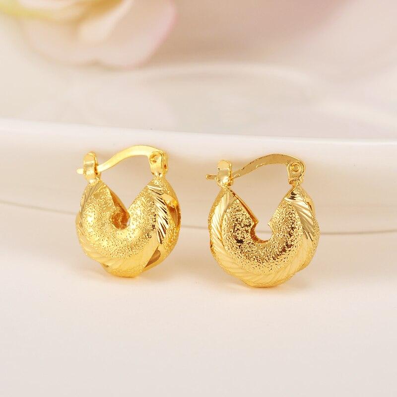 Genießen Sie kostenlosen Versand Gutscheincodes begrenzte garantie US $3.4 15% OFF Bangrui African Kleine Ohrringe für Mädchen/Kinder Gold  Farbe Äthiopischen Schmuck Nahen Osten, Nigeria, Arabische Ohrringe für ...