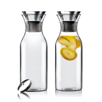 1L Explosion proof High temperature Cold Water Bottle Wide mouth Glass Cold Water Kettle Juice Pot Coffee Pot Ice Water Kettle