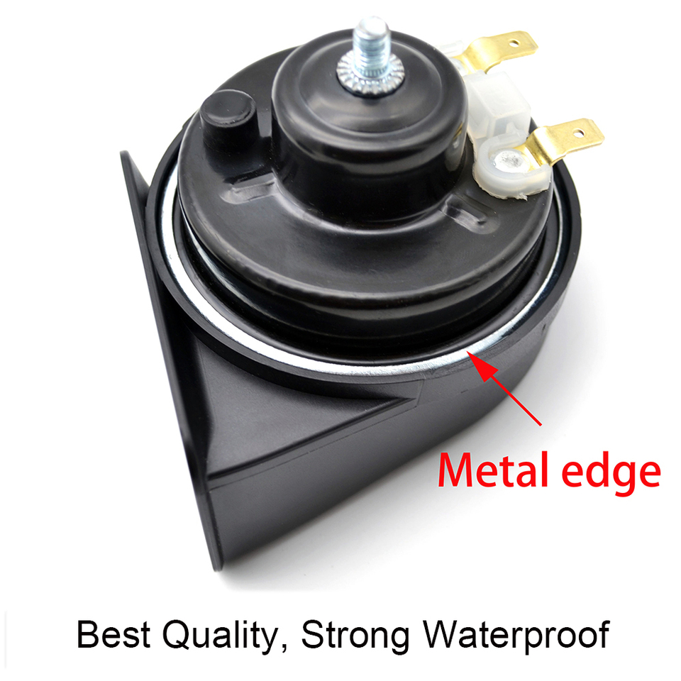Snail Horn For Ford F-150 MK11 2004-2008 125db High Low Pitch Loud Waterproof