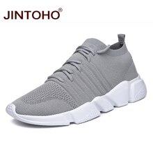 JINTOHO Big Size Men Casual Shoes Fashion Male Casual Shoes