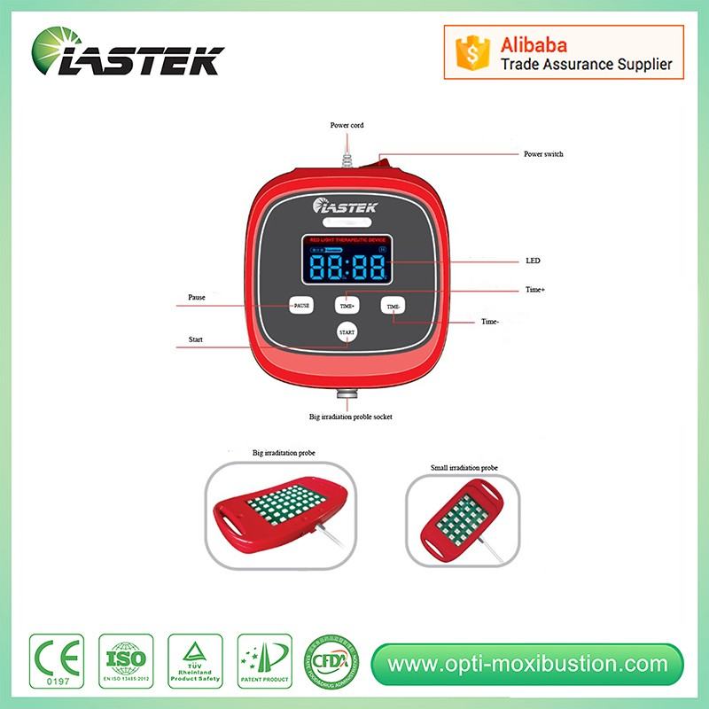 Lastek Portable prostate therapy machine and vibrating prostate massager red light therapeutic device natural prostate remedies prostate massage equipment enhance renal function therapeutic device from china